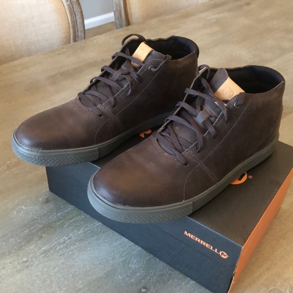 coupon code factory outlet newest style Merrell Barkley Chukka Boots NWT